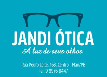 7bbe5c8418dab Em Mari  Neste sábado, na Jandi Ótica Óculos completo à partir de R  250,00  - PBCidades.com